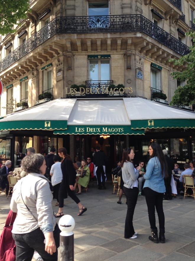 Les Deux Magots, Paris France