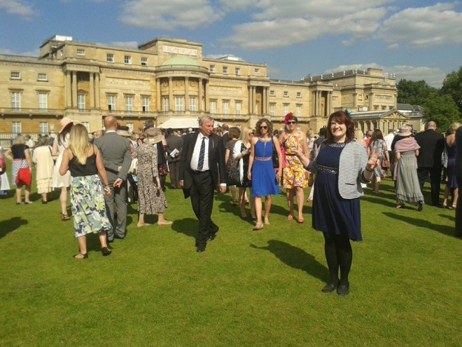 Buckingham Palace Garden Party, Tea with The Queen