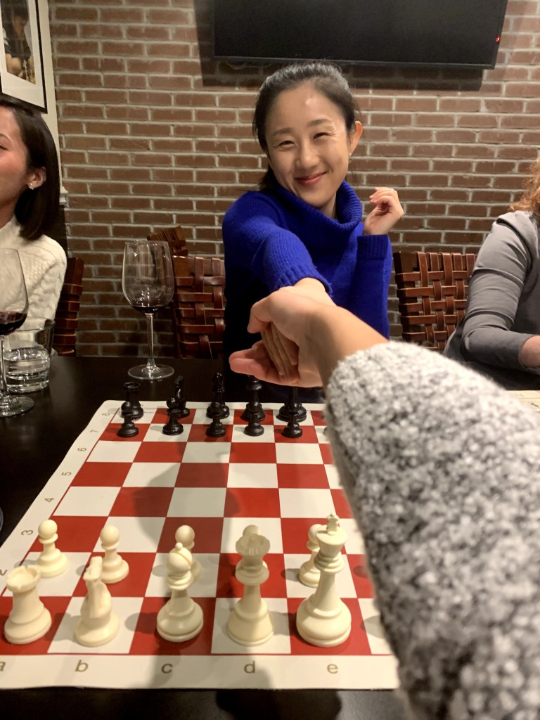 Game on at the Chess Club