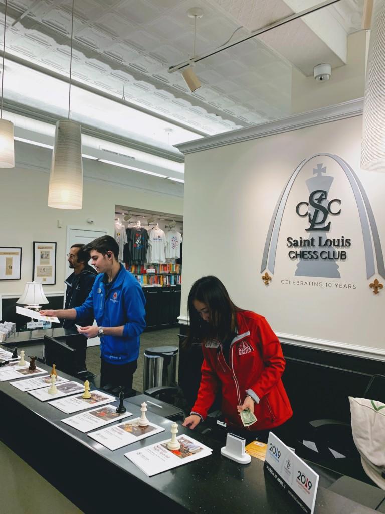 St. Louis Chess Club Reception