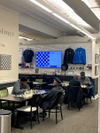 Locals at the St. Louis Chess Club